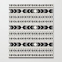 Tribal Arrow Boho Pattern #2 #aztec #decor #art #society6 Canvas Print