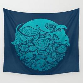 Aquatic Spectrum Wall Tapestry