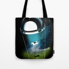 Encounters of the Dairy Kind Tote Bag