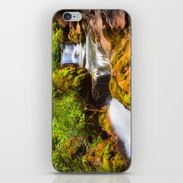 Swiss rapids. iPhone Skin