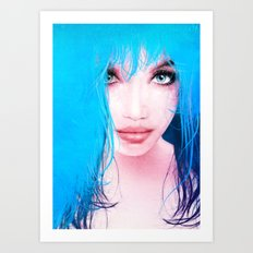 MonGhost XI - TheBlueDream Art Print