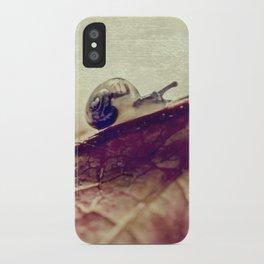 little snail iPhone Case