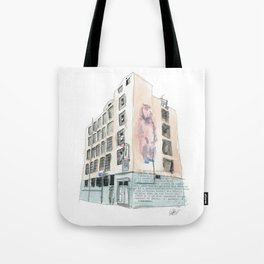 125 Manners Street Tote Bag