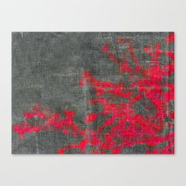 abstract pink branchs Canvas Print