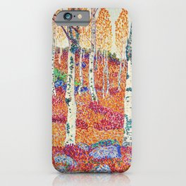 Alfred Ekstam (Sweden, 1878-1935)- autumn day 1914 iPhone Case