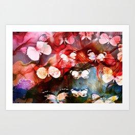 Farfalle  Art Print