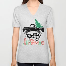 Christmas Merry Christmas Unisex V-Neck