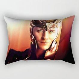 Loki - I Never Wanted The Throne VIII Rectangular Pillow
