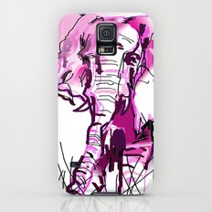 pink elephant  Slim Case Galaxy S5