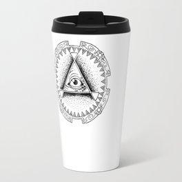 The Triangle-shaped Watcher Travel Mug