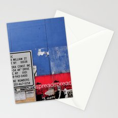 Street Collage II Stationery Cards