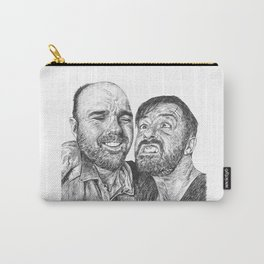Karl Pilkington - Ricky Gervais, we need more of them! Carry-All Pouch