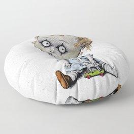 The Zombie Games (boy) Floor Pillow