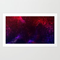Lost in the Universe Art Print