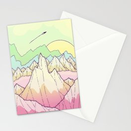 The pale hue lands Stationery Cards