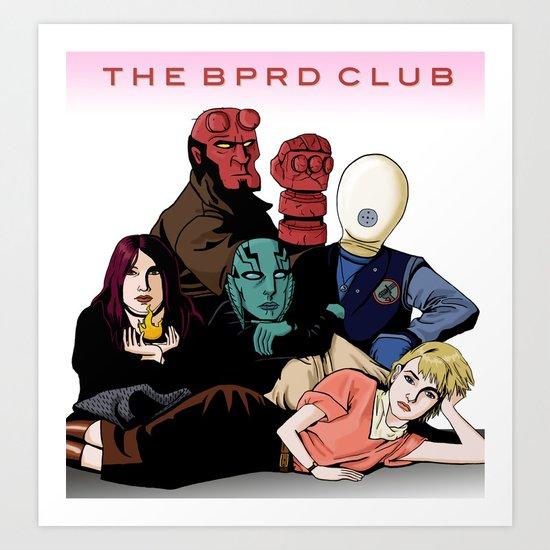 The BPRD Club Art Print