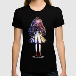 Faceless Girl and Red Doc T-shirt