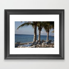Loungin' Framed Art Print
