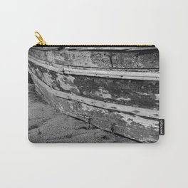 Wooden boat washed paint Carry-All Pouch