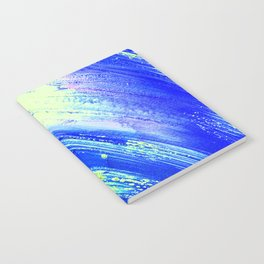 Acrylic Abstract on Canvas 7 Notebook