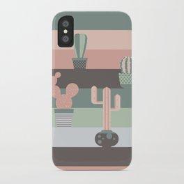 cacti colors iPhone Case