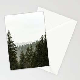 Forest Fog III - 89/365 Stationery Cards