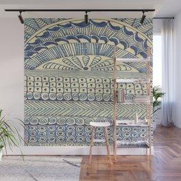 Blue Color Magic 1 Wall Mural