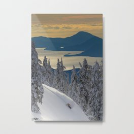 LIMITED EDITION OF 25  - KEVIN SANSALONE / HOWE SOUND SQUAMISH BC Metal Print