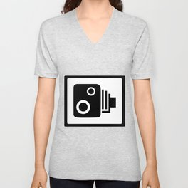 Speed Camera Unisex V-Neck