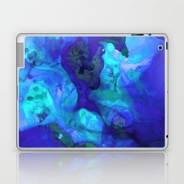 Violet Blue - Abstract Art By Sharon Cummings Laptop & iPad Skin