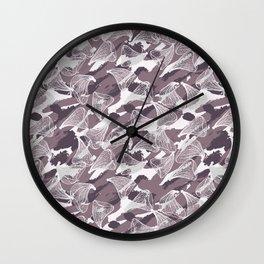 PETAL DASH PINK Wall Clock