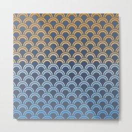 Fish Scale #1 Metal Print