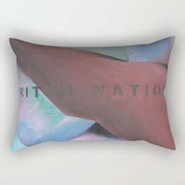 United Nations Rectangular Pillow