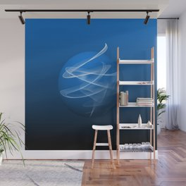 Blue Spirit Wall Mural