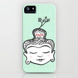 Buddha infinity iPhone Case
