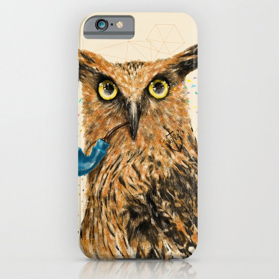 Mr.Owl V iPhone & iPod Case