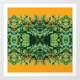 Tropic Totem Art Print