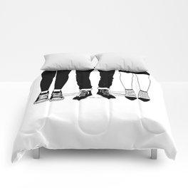 Love Triangle Comforters