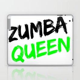 Zumba Queen (Green) Laptop & iPad Skin