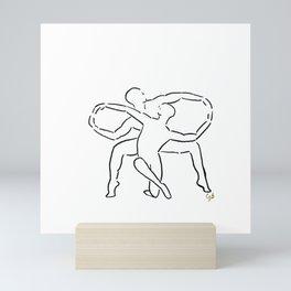 Infinite Duet Mini Art Print