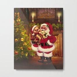 Santa Claus 3 Metal Print