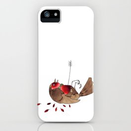 Who killed cock robin? iPhone Case
