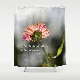 Lift yourself Up Shower Curtain
