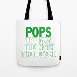 POPS THE LEGEND Tote Bag