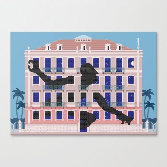 Lisbon Street Art by Sam3 Canvas Print
