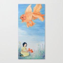 SkyFish Canvas Print