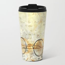 Father's Glasses Travel Mug