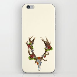 The Red Stag iPhone Skin