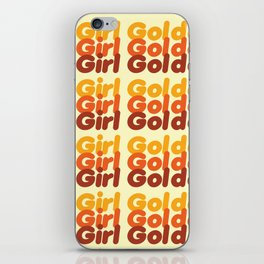 The Golden Girl iPhone Skin