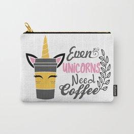 unicorn, coffee, unicorn gift, unicorn t-shirt, unicorn mug Carry-All Pouch